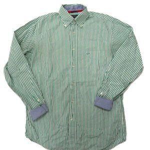 Paul & Shark Button Down Shirt Mens Sz 40 Striped